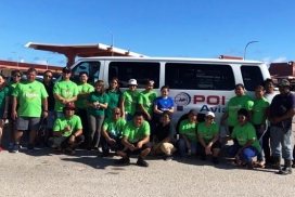 POI Aviation Team Participates in the Annual Island Wide Clean Up